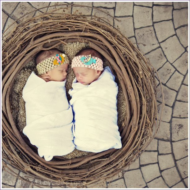 pair of cotton muslin swaddling blankets