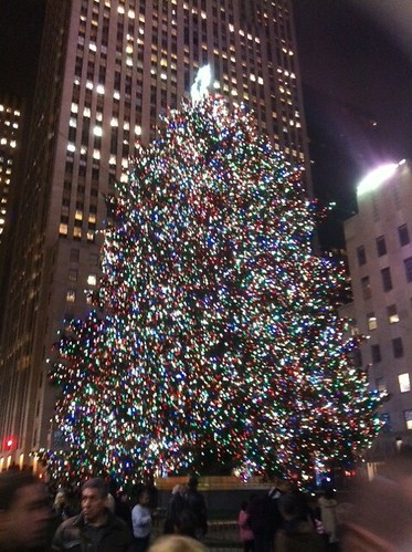 Rockefeller Center Tree, 2011