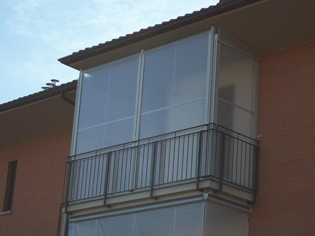 Chiusura Completa Balcone Con Tenda Veranda Invernale Ermetica 4