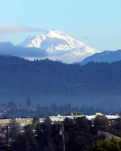 california county ca snow top mount covered shasta mtshasta redding montain konomark