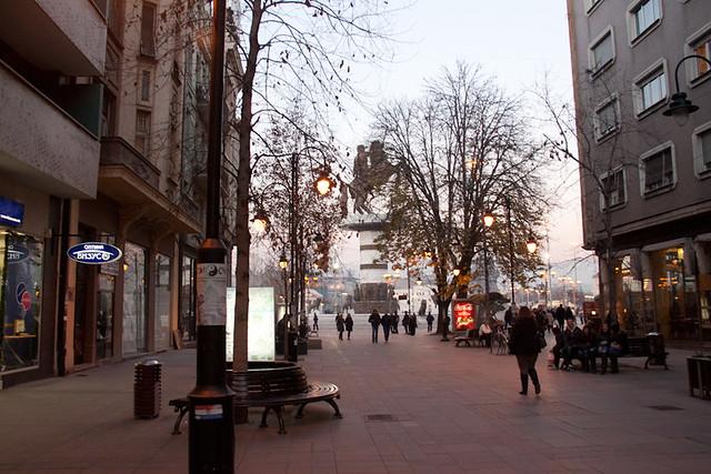 Skopje centre