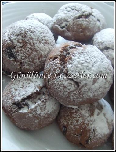 portakallı çikolatalı kurabiye 1
