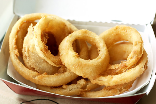 onion rings @ fatburger