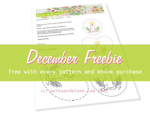 Polka & Bloom December Freebie