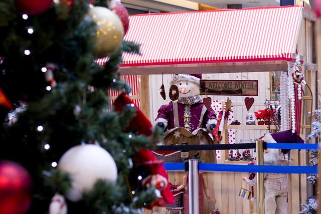 A Christmas shop