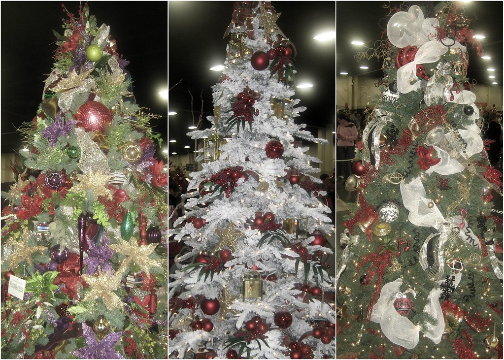 Festival of Trees Triptych