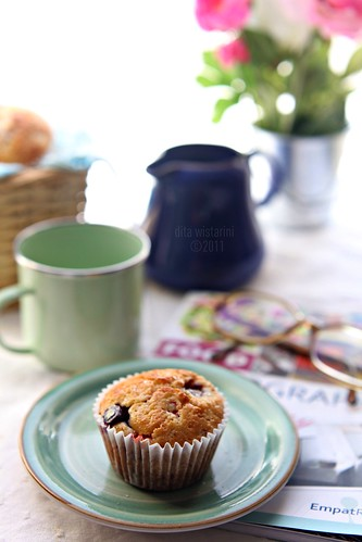 berries muffin