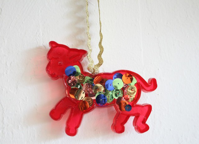 Cookie Cutter Ornament SequinLamb