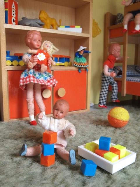 1966 bodo hennig puppenhaus kinderzimmer flickr for Kinderzimmer 5 jahre