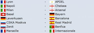 UEFA Champions League 2011-12 Octavos Final