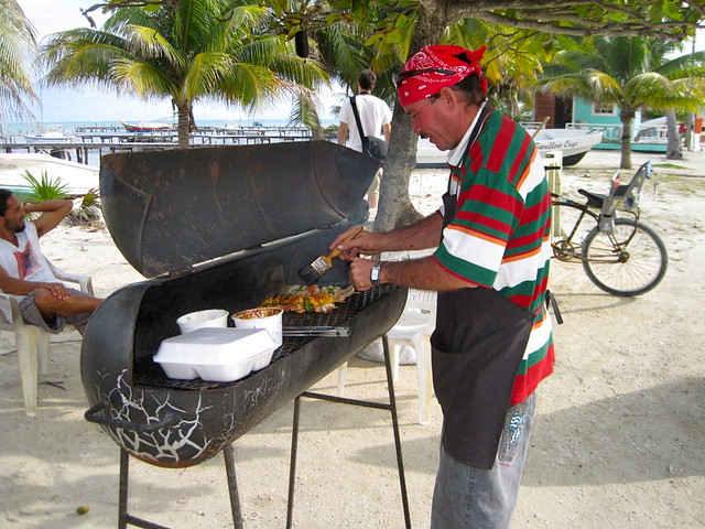 local seafood - belize