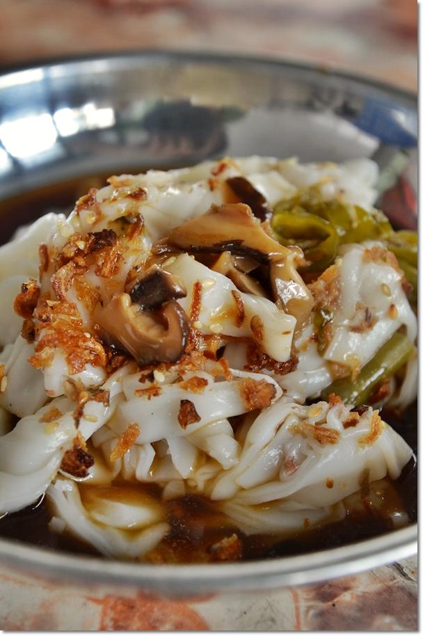 Mushroom Gravy Chee Cheong Fun