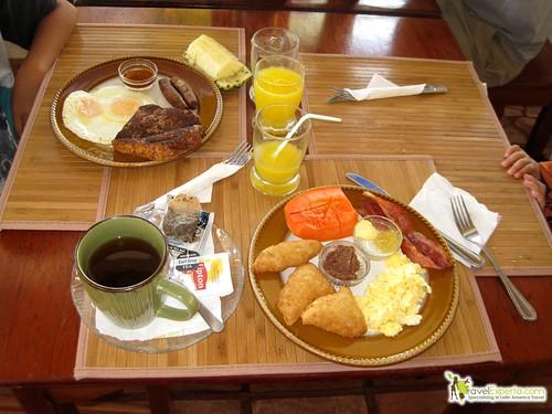 typical breakfast belize