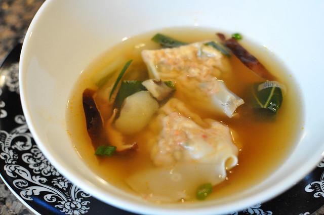 tofu wonton soup