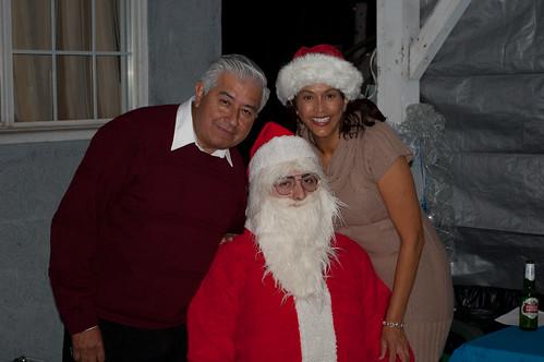 Carlos, Luz and Santa