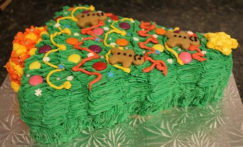 Christmas Tree Cake - 3
