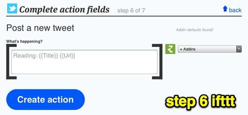 step 6 ifttt
