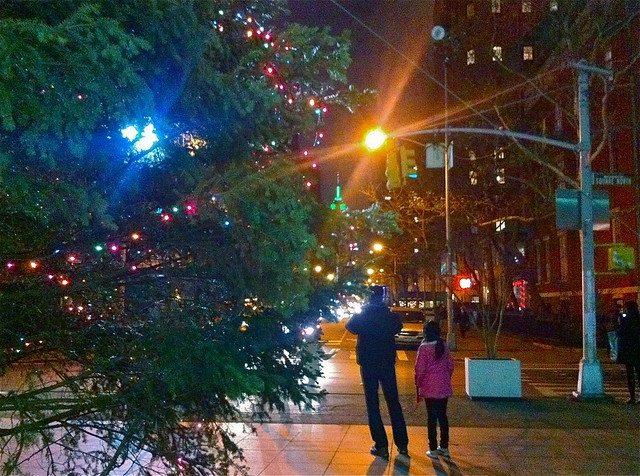 Holiday Lights, Greenwich Village, 2011