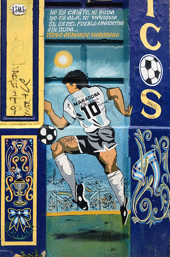the old maradona