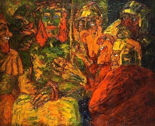 [ N ] Emil Nolde - La Derision du Christ (1909) by Cea.