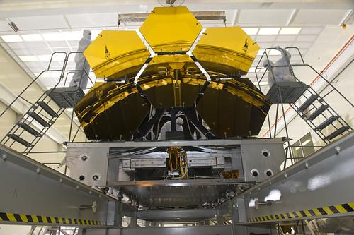 James Webb Space Telescope mirrors