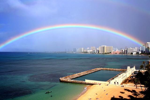 Photo:rainbow-Clinton Gaughran 2011 By:Waikiki Natatorium