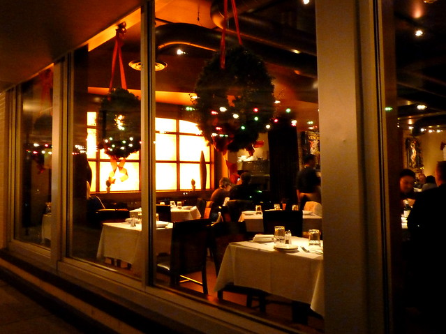Dining out in December