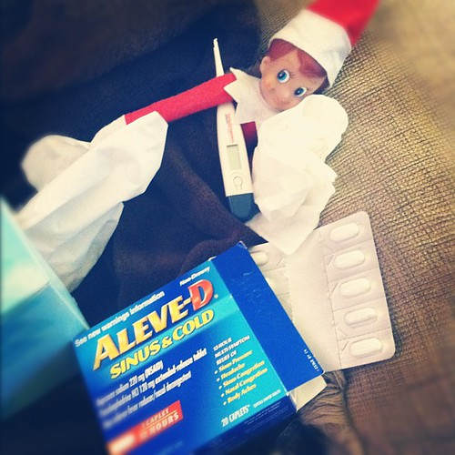 Poor Buddy. #elfontheshelf