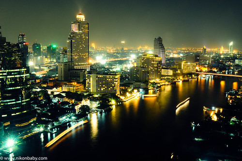 Bangkok night at 360