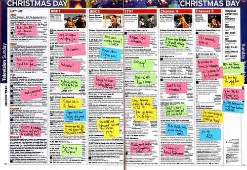 Radio Times 25 December 2011