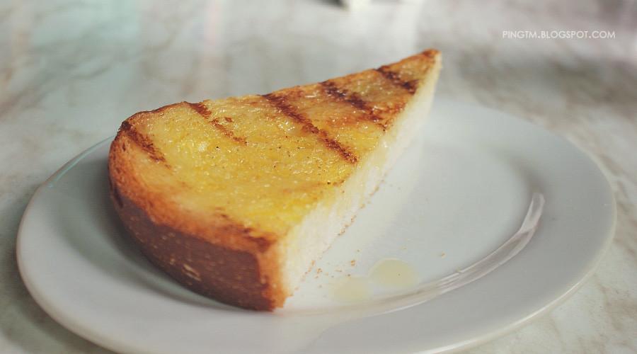 Roti Bakar Susu @ PappaRich Express TARC