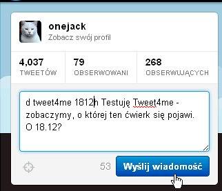 Tweet4me4
