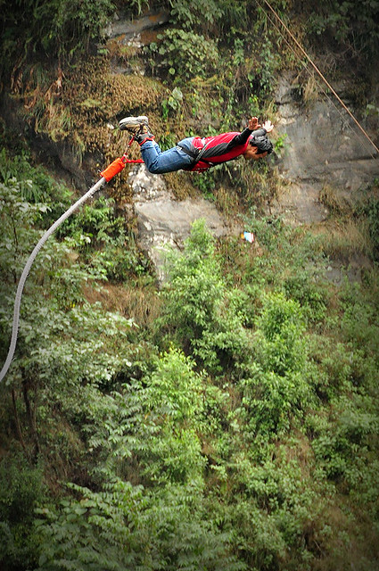 Bungy in the Himalayas