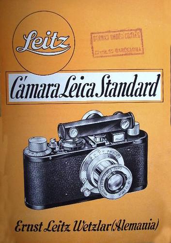 Cámara Leica, Standard. by Octavi Centelles