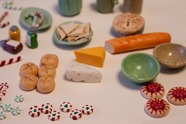 Polymer Clay Mini Food & Pottery
