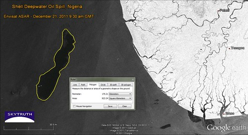SkyTruth_Shell_Nigeria_spill_ASAR_21dec2011_measured