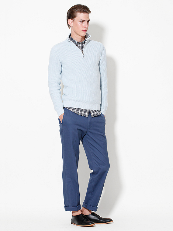 UNIQLO EARLY SPRING STYLE FOR MEN 2012_005Tim Meiresone