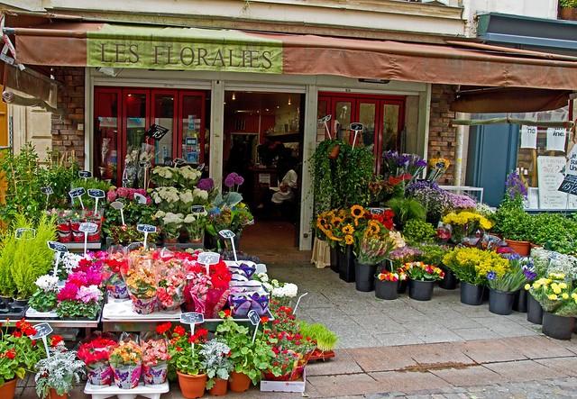 Paris Flower Shop Flickr Photo Sharing