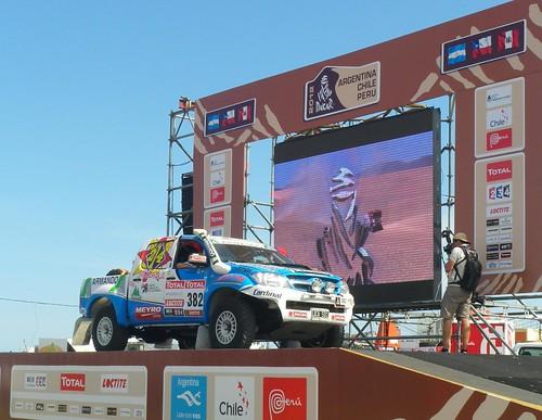 Eduardo Amor(AR) Joan Rubí  (ES)TOYOTA 4WD JATON RACING Dakar 2012