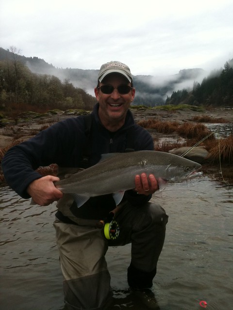 winter steelhead fly fishing oregon