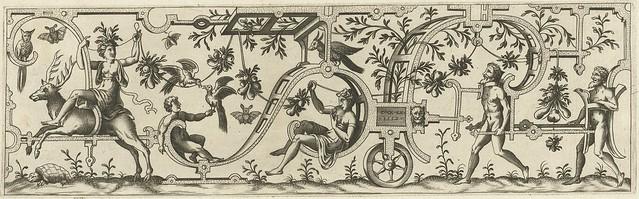 De vrouw zit in een lus van rolwerk...1552