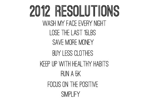 2012resolutions