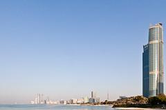 Abu Dhabi 2011 - Corniche Towers and Beach