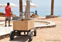 Egypt-Taba-Aquasport-Moevenpick-Beach-Shower-Trolley