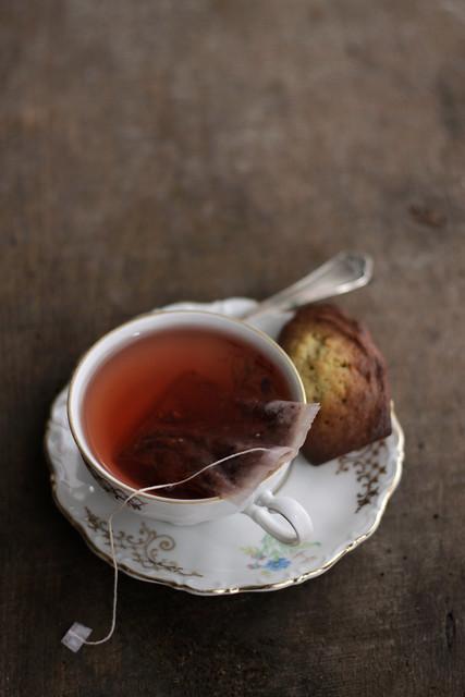 Madeleines au thè vert
