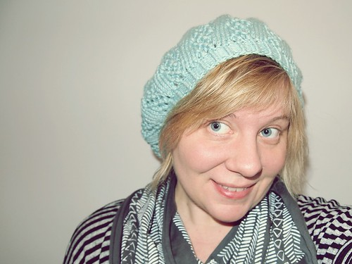 I ♥ my Good Knits Nell hat!