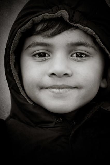 peaceful smile
