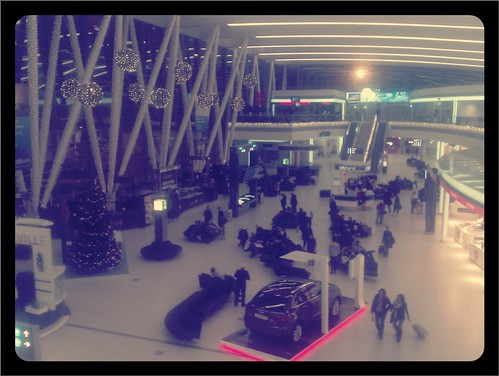Nice, cozy airport.