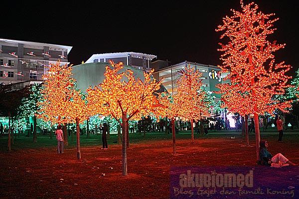 Pokok-pokok cahaya i-city
