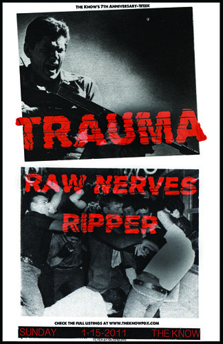 1/15/12 Trauma/RawNerves/Ripper